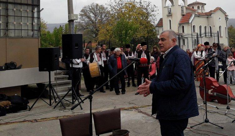 Народният представител Георги Гьоков бе гост на първия празник на старозагорското село Колена