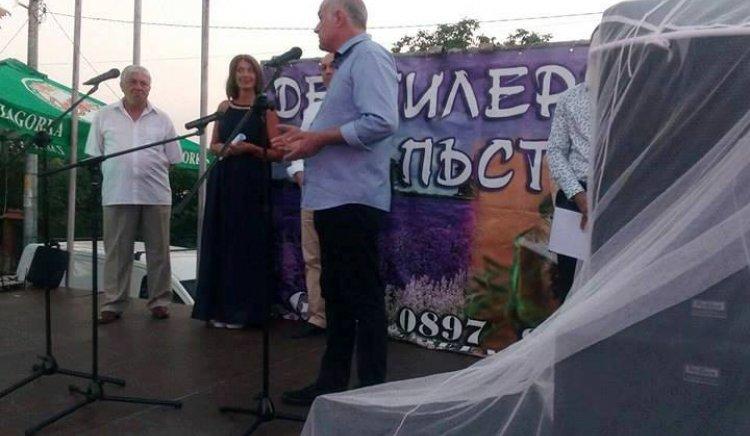 Депутатът Георги Гьоков: Лавандулата - икономическа алтернатива за Чирпанския край
