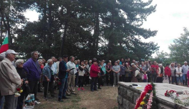 Казанлъшките социалисти отбелязаха 135 години от рождението на Георги Димитров