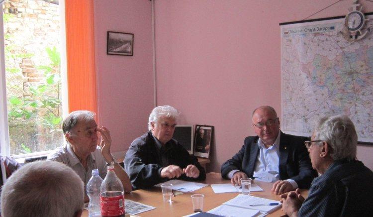 Депутатът Спас Панчев се срещна с областното ръководство на Съюза на офицерите и сержантите от запаса