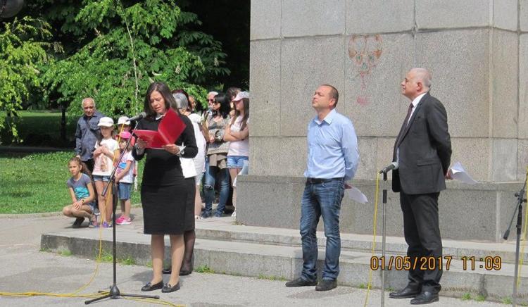 Георги Гьоков в Стара Загора: Имаме волята и ще работим за мнозинството българи!