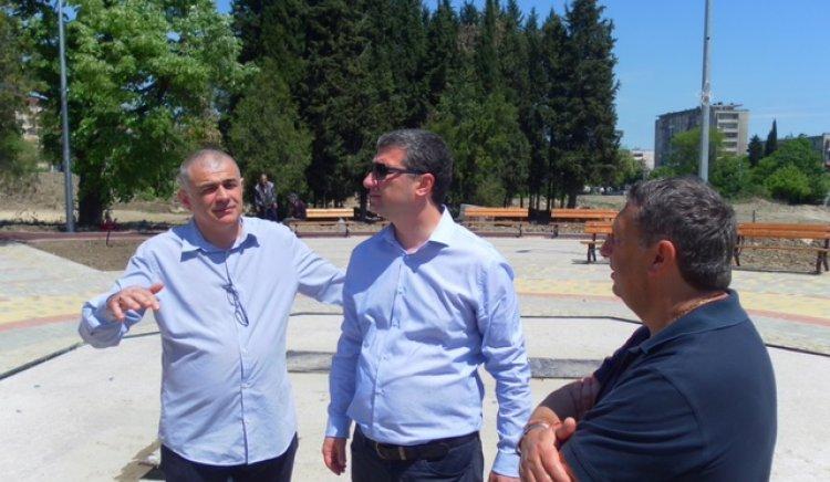 Георги Гьоков: Имаме още един зелен парк, благодарение на правителството на Орешарски