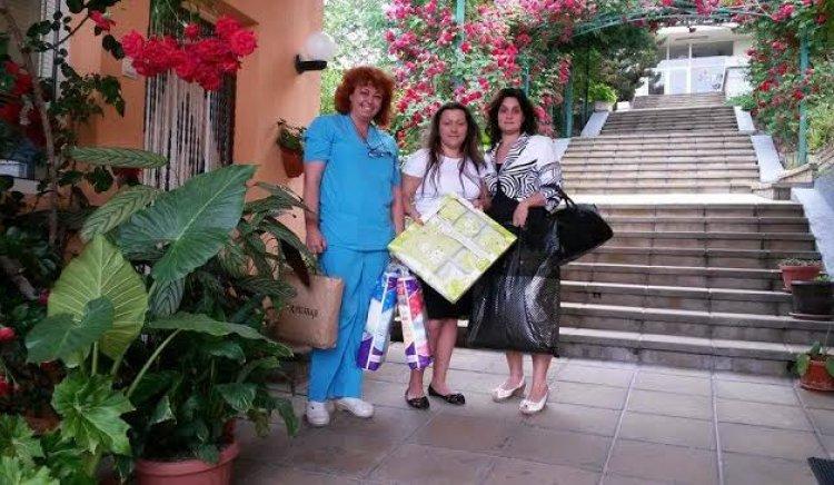 Социалисти от Стара Загора с подарък за децата в Дома за медико-социални грижи